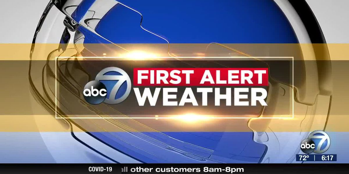 First Alert Weather - 6:00pm April 1, 2020