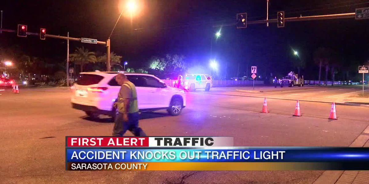 Driver killed after colliding with vehicle, pole on Fruitville