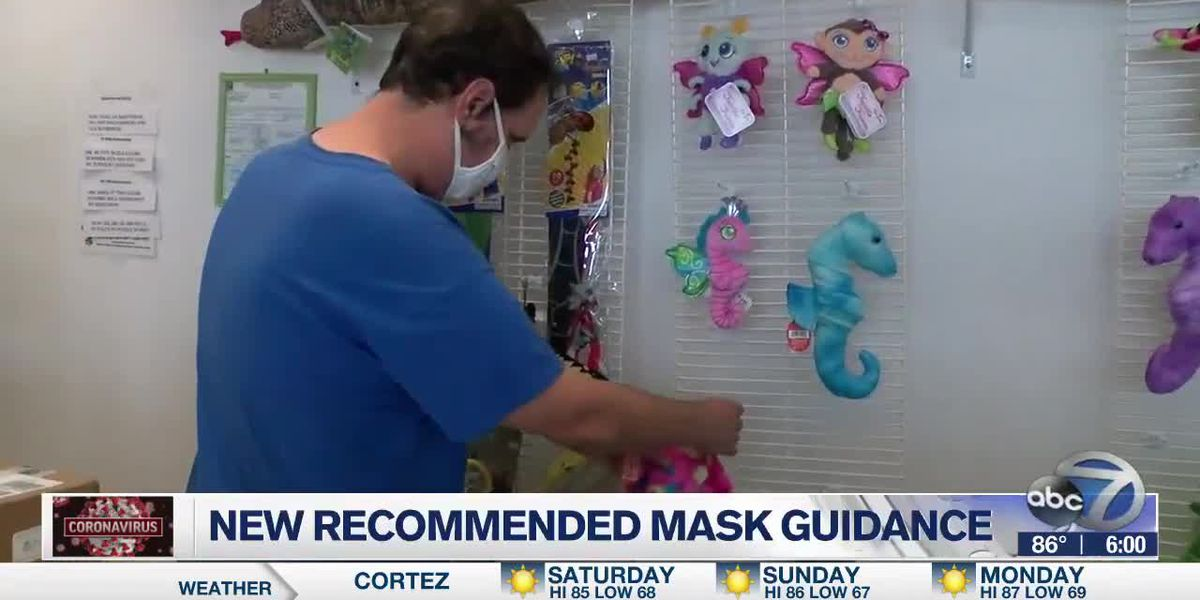New recommended mask guidance