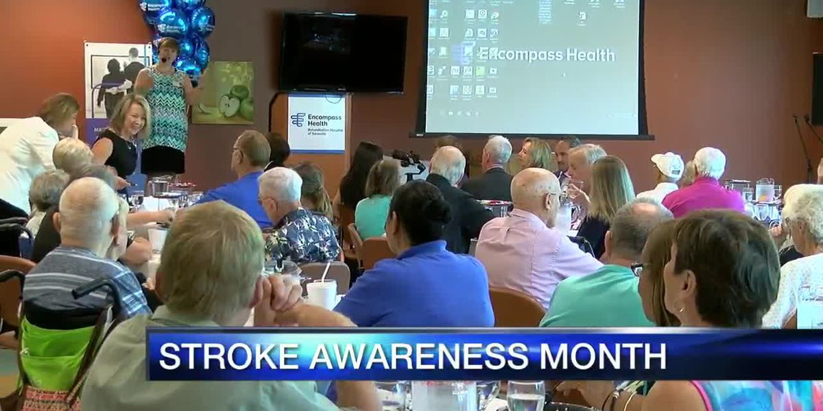 Stroke awareness month honored on the Suncoast