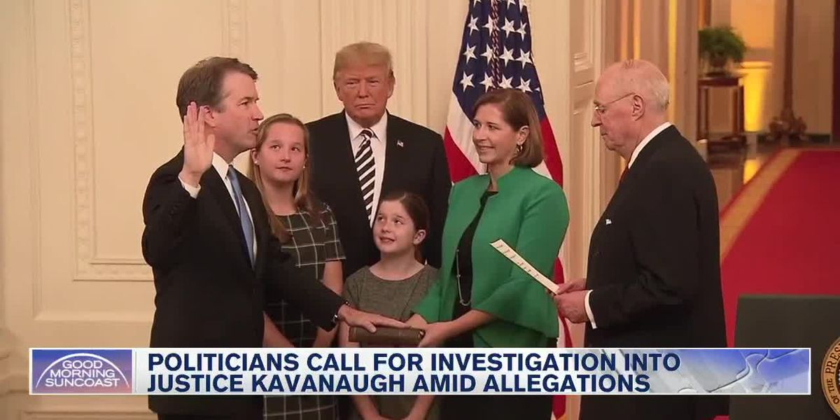 New allegations against Justice Kavanaugh