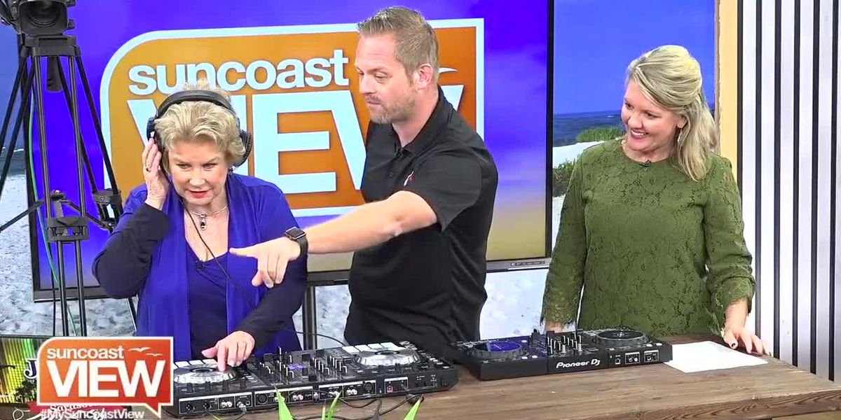 Linda Learns How to be a DJ with Music Compound | Suncoast View