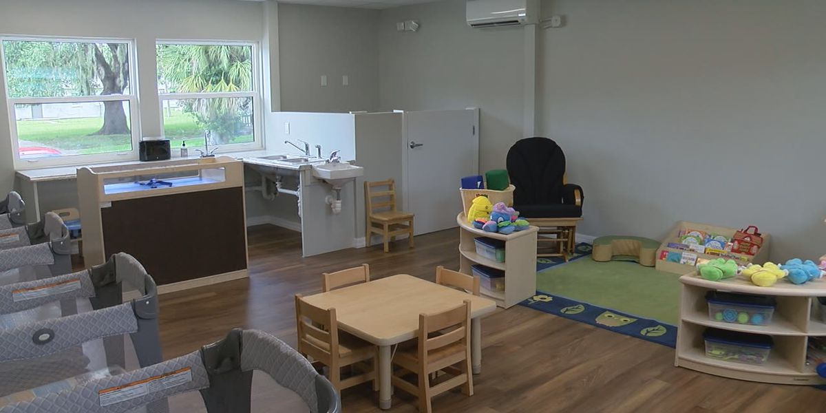 Modular building transformed in Newtown, providing free early education services for people living under the federal poverty level