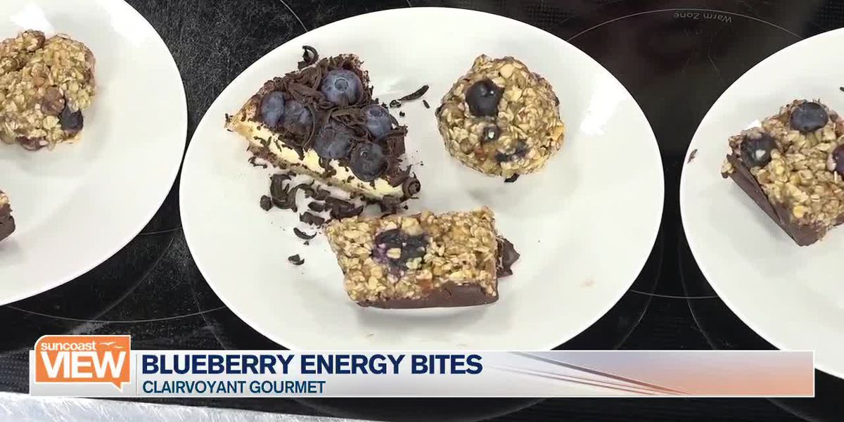 Learn How to Make Blueberry Energy Bites from Clairvoyant Gourmet | Suncoast View