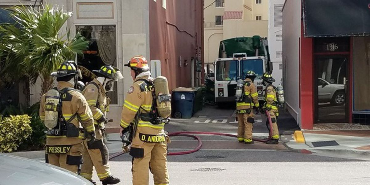 Gas leak quickly fixed at Main Street and Palm in Sarasota
