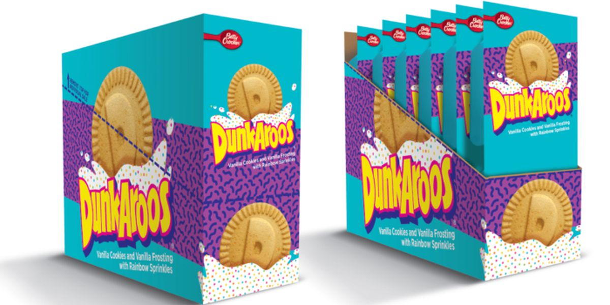 '90s snack Dunkaroos coming back this summer