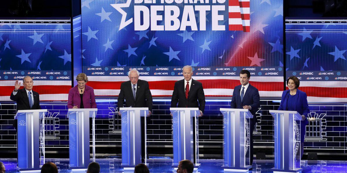 Bloomberg, Sanders attacked by rivals at Democrats' Nevada debate