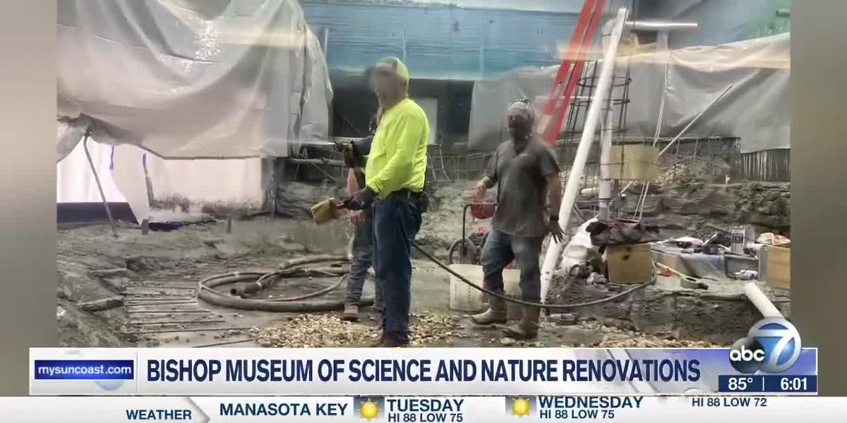 Bishop Museum of Science and Nature renovations
