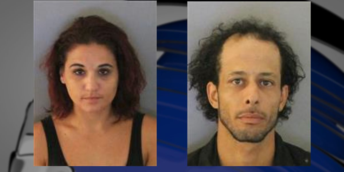 Pair arrested after odd behavior in Port Charlotte