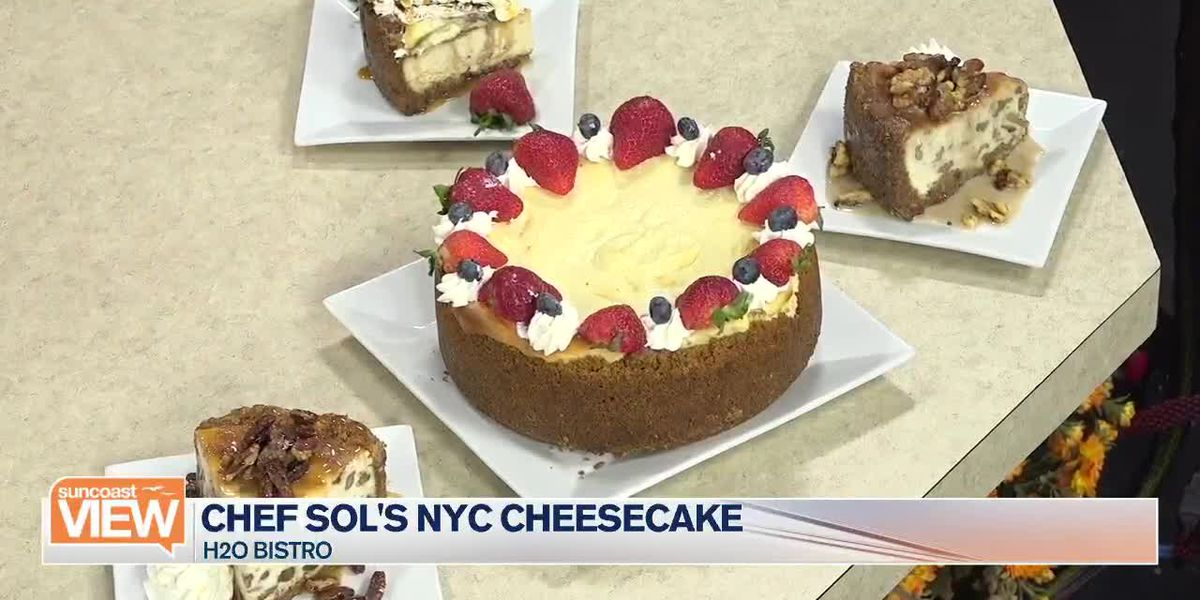 Recipe: Chef's Sols NYC Cheesecake from H20 Bistro on Suncoast View