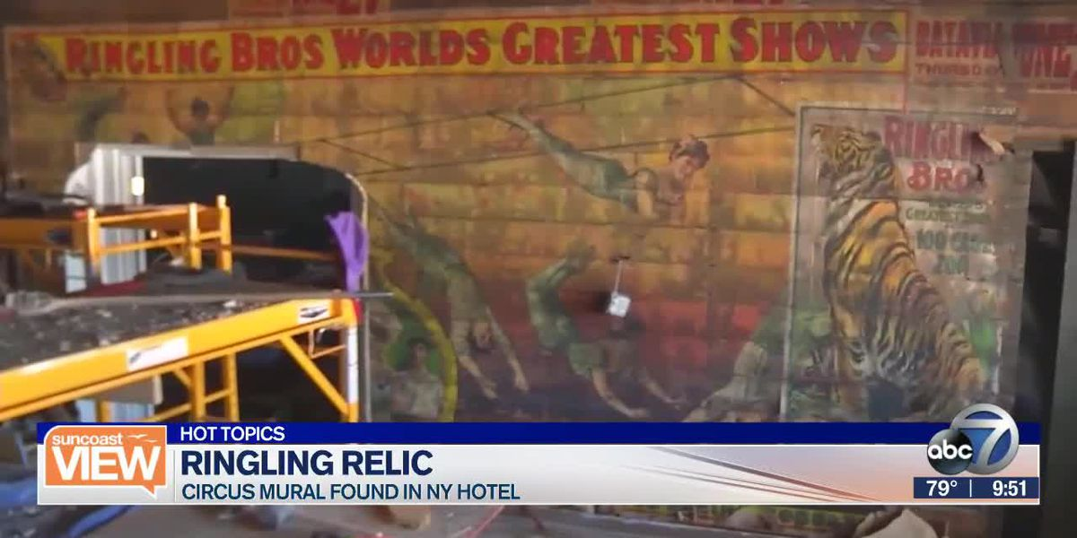 Recovering lost Ringling Circus mural | Suncoast View