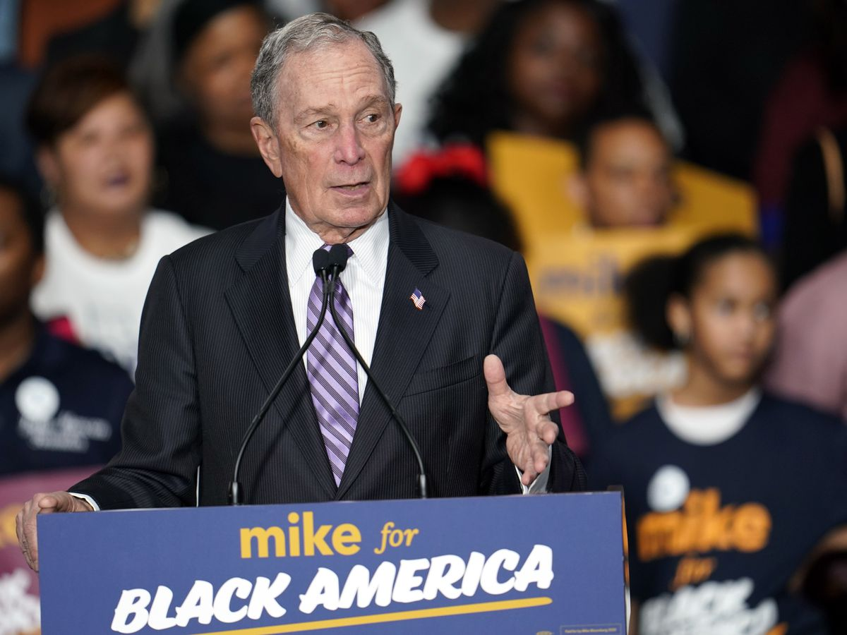 Rivals take pre-debate shots as Bloomberg faces major test