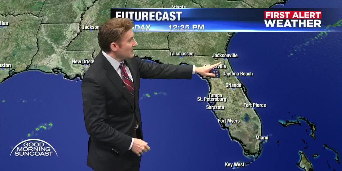 FIRST ALERT WEATHER: Christmas Eve Forecast