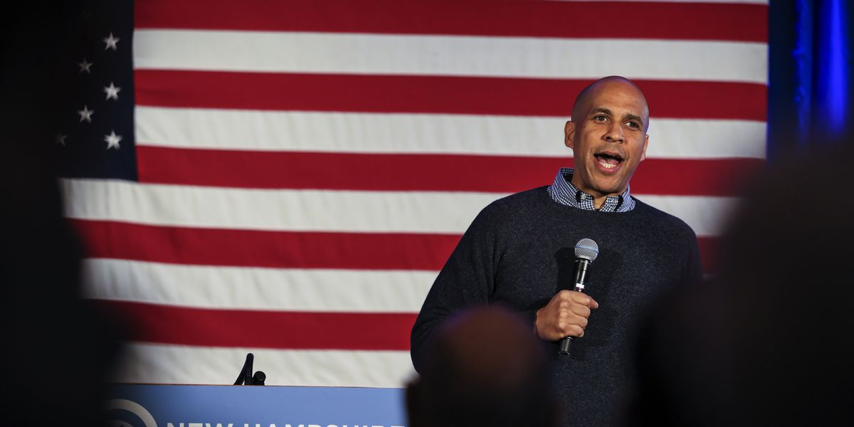 Sen. Cory Booker visits New Hampshire in preview for 2020