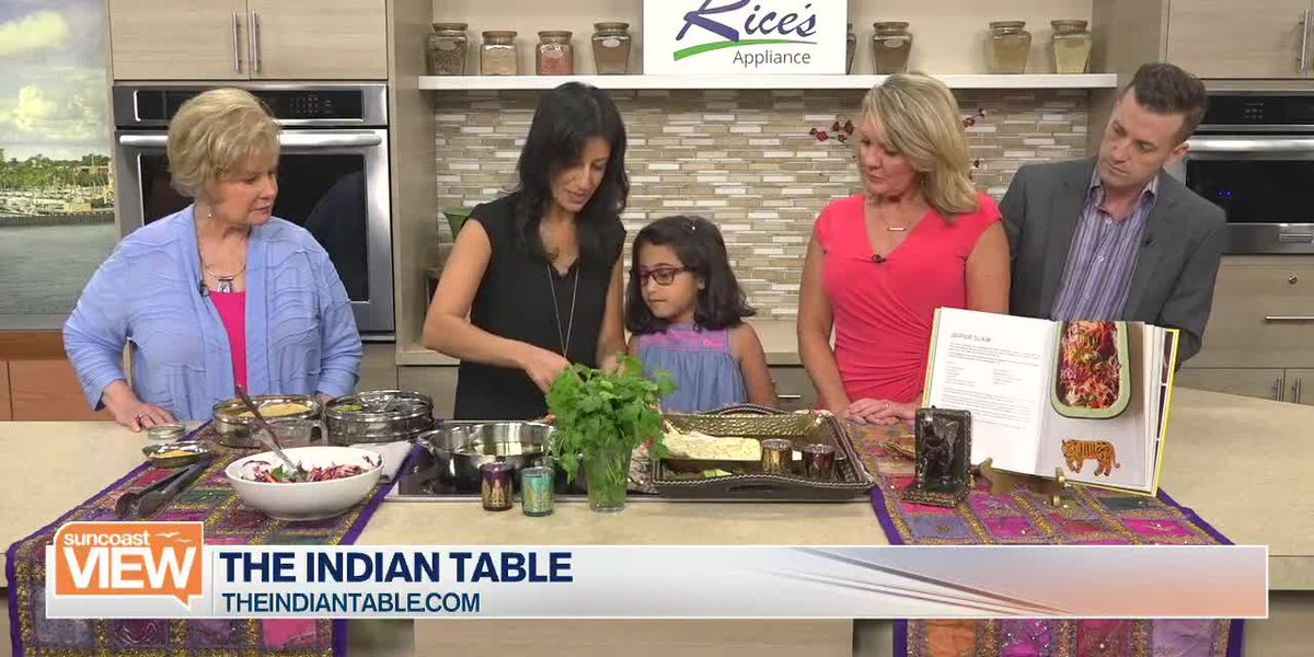 Deepa from the Indian Table Shows How to Make Jaipur Slaw with Crisp Lentil Papaddum | Suncoast View