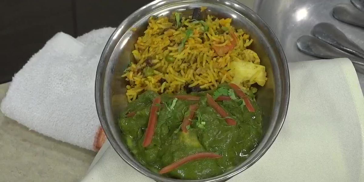 Gobi Saag From Curry Station