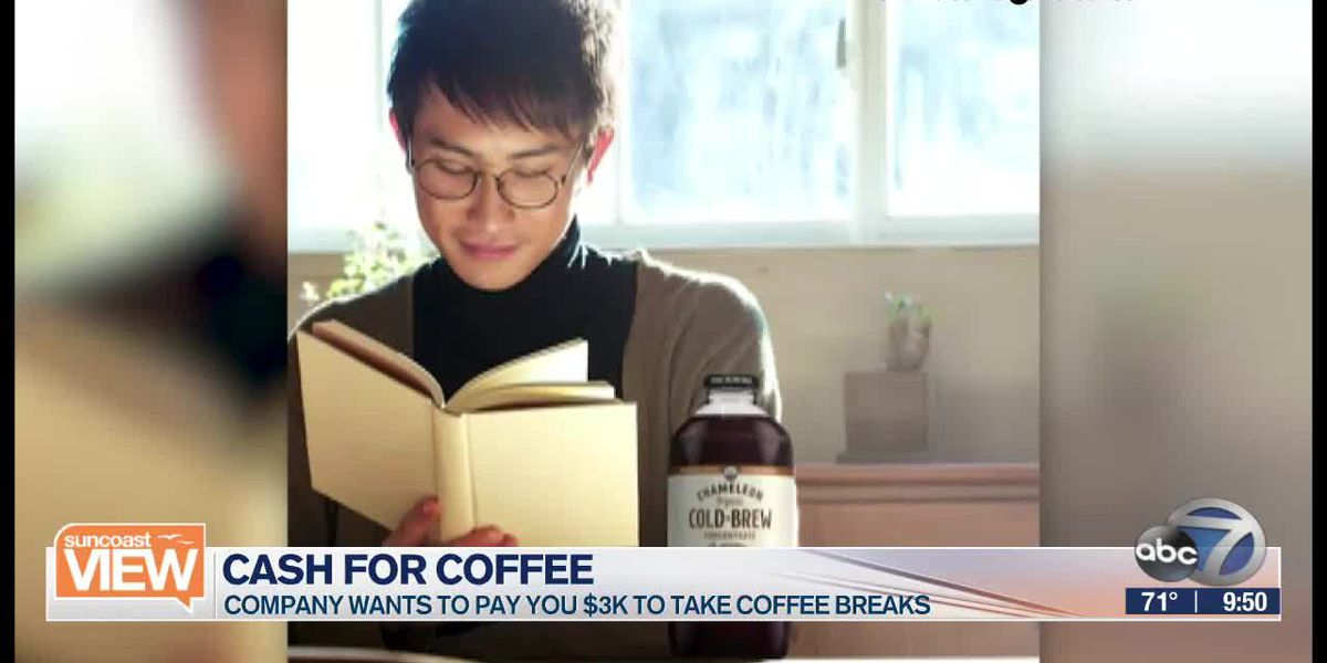 HOT TOPIC: Get paid to take coffee breaks | Suncoast View