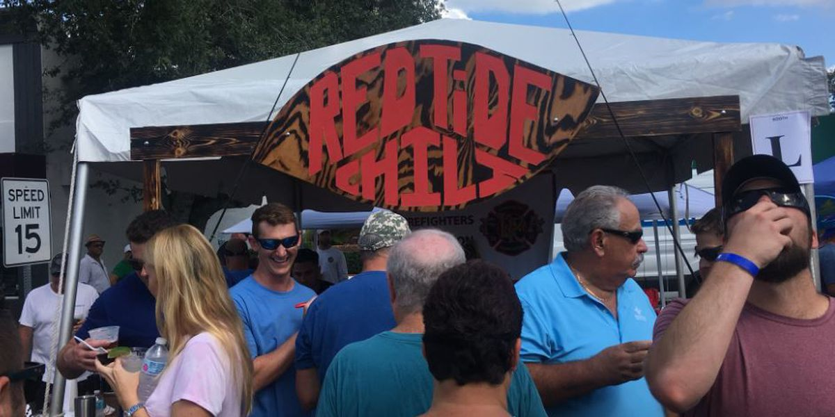 Hundreds attend 19th Annual Morton's Firehouse Chili Cook-Off