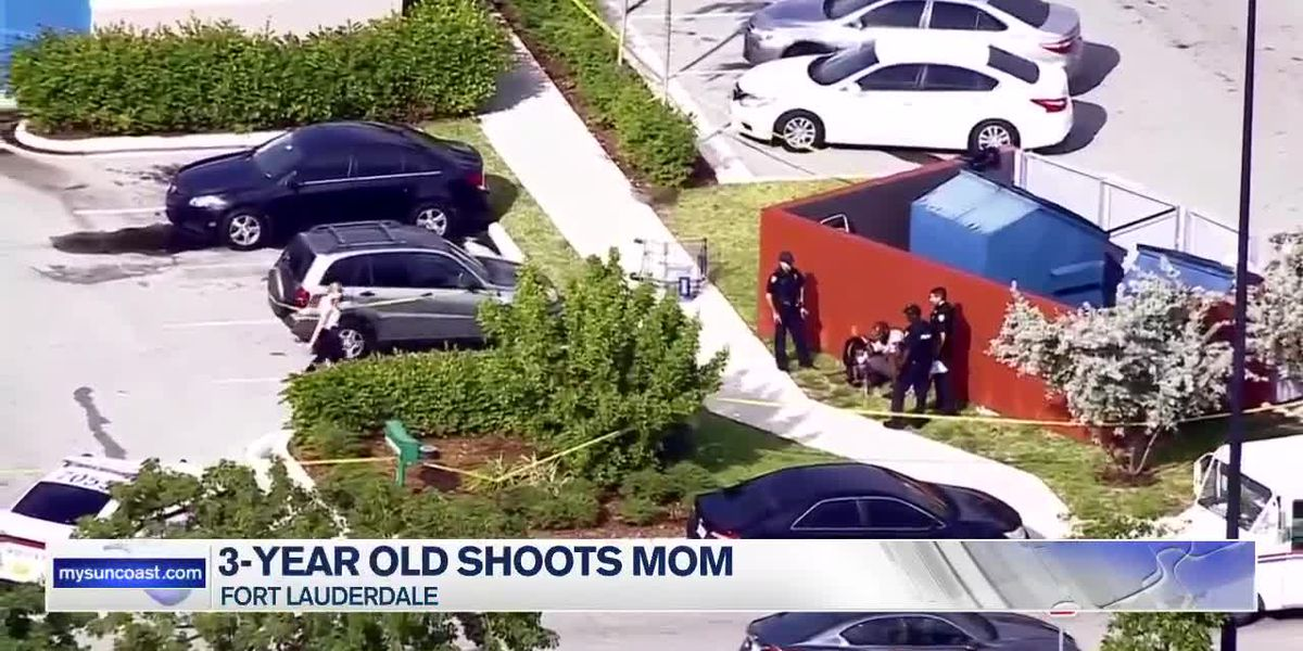 3-Year Old Shoots Mom