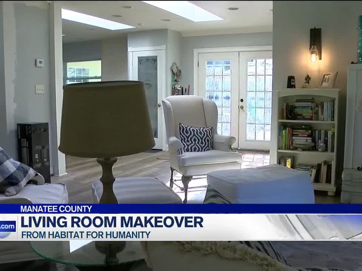 Local family receives living room makeover from Manatee Habitat for Humanity