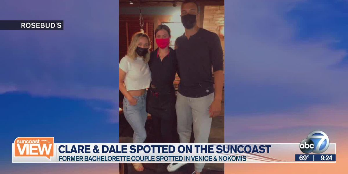 "Stars from ""The Bachelor"" spotted on the Suncoast 