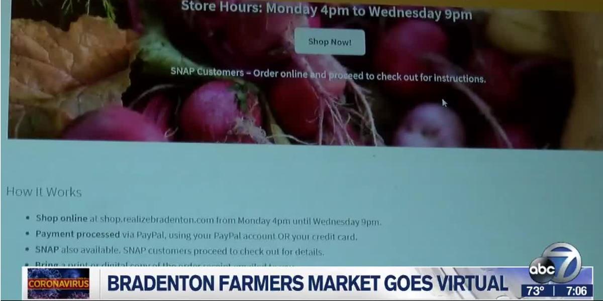 The Bradenton Farmers Market goes virtual