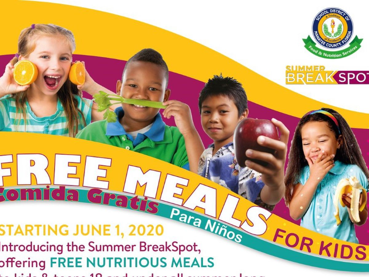 Manatee County Schools summer food program starts today