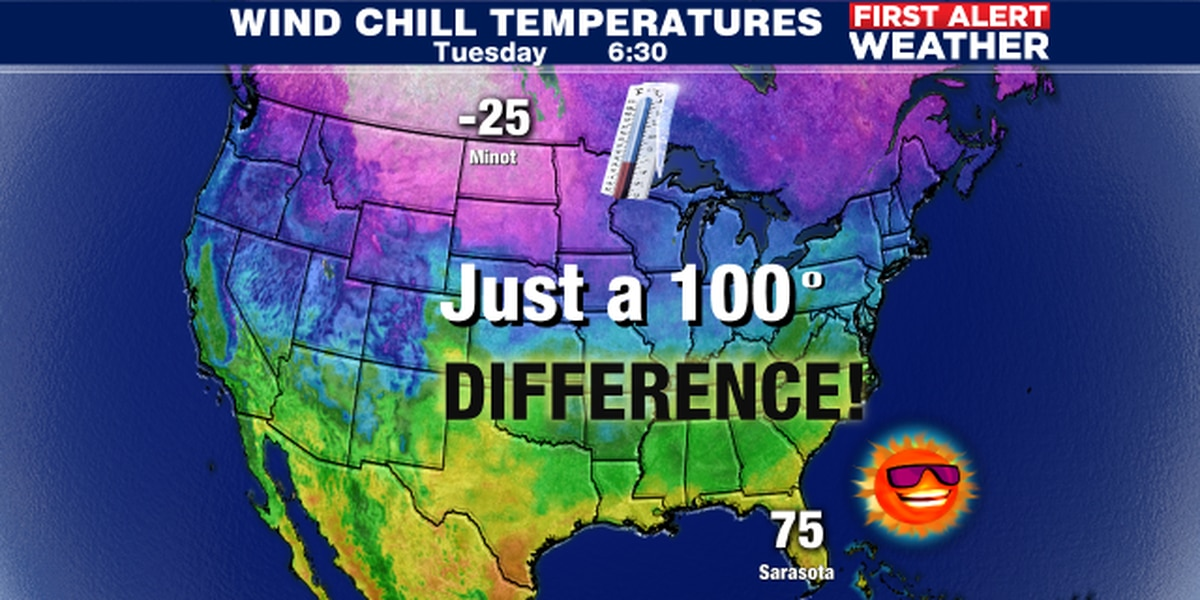Warm weather through the weekend and then the chill is on