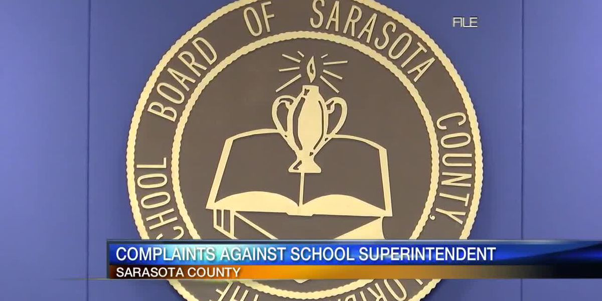 Complaints against Sarasota County School Superintendent, Assistant Superintendent, and HR Departmen