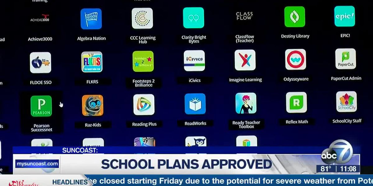 FLDOE approves reopening plans for schools on the Suncoast