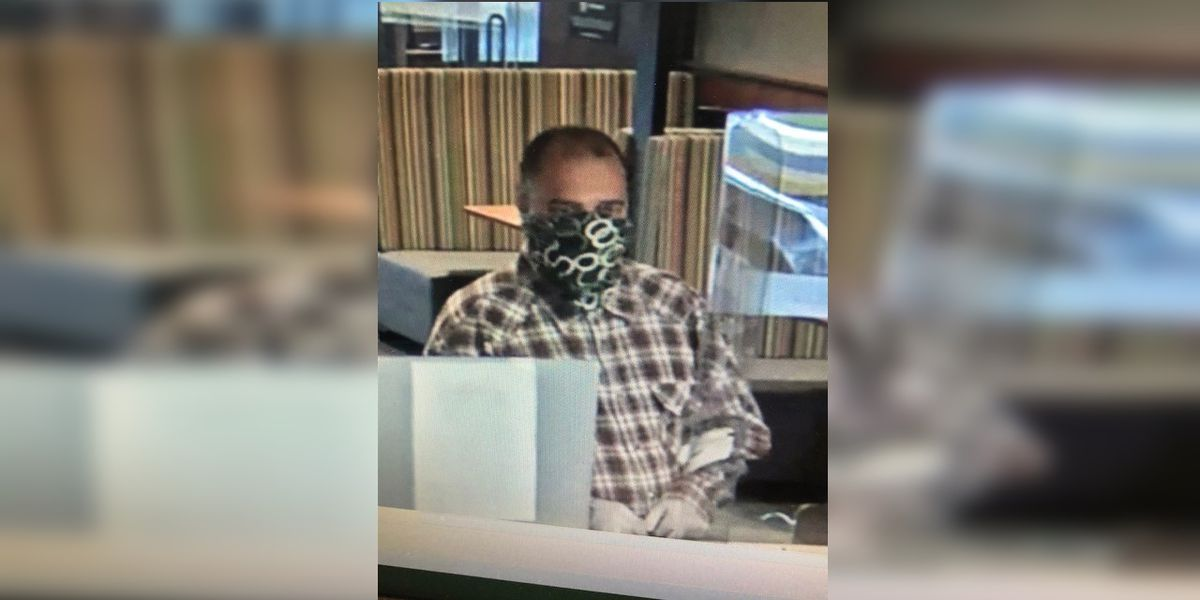 Sarasota Sheriff searching for bank robbery suspect