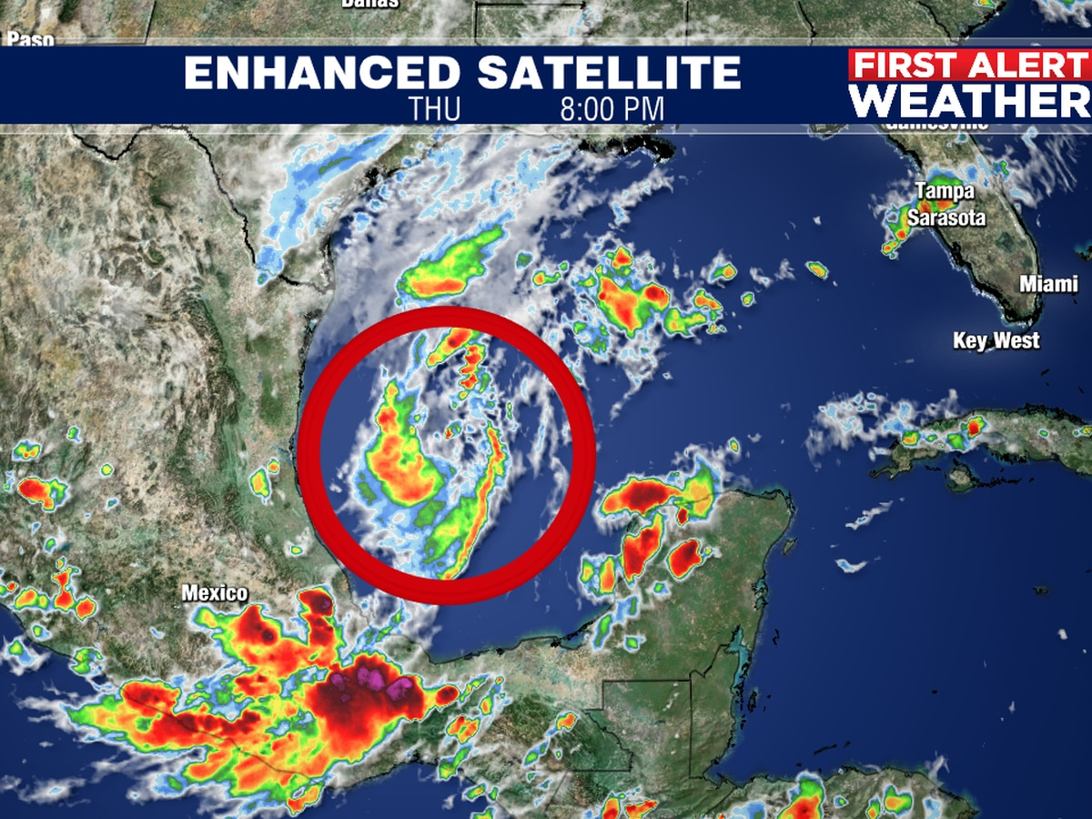 Wilfred to develop in the SW Gulf on Friday