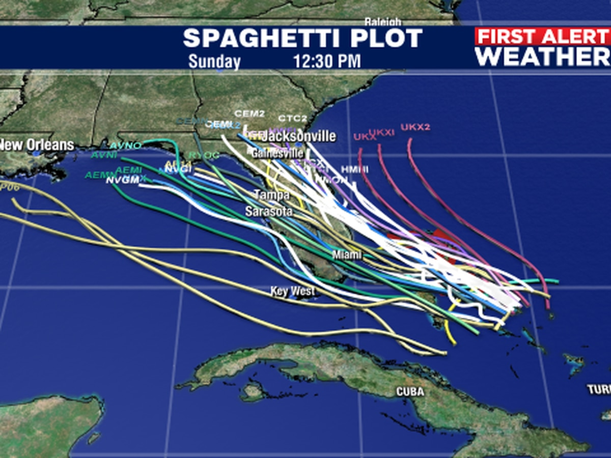 Potential tropical cyclone could be Humberto as it moves closer to FL
