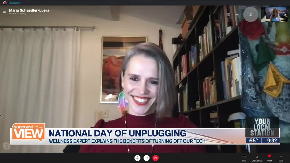 How to unplug from your tech | Suncoast View