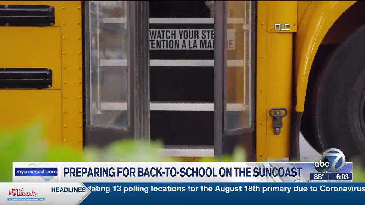 Preparing for Back-To-Back School on the Suncoast