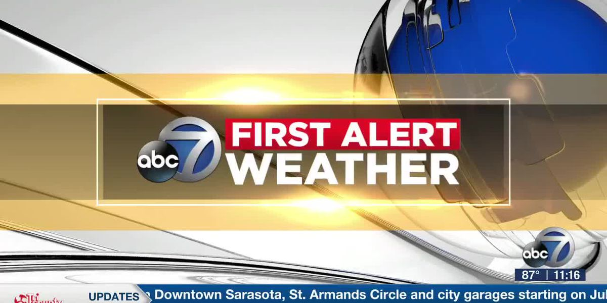 First Alert Weather - 11:00pm July 5, 2020