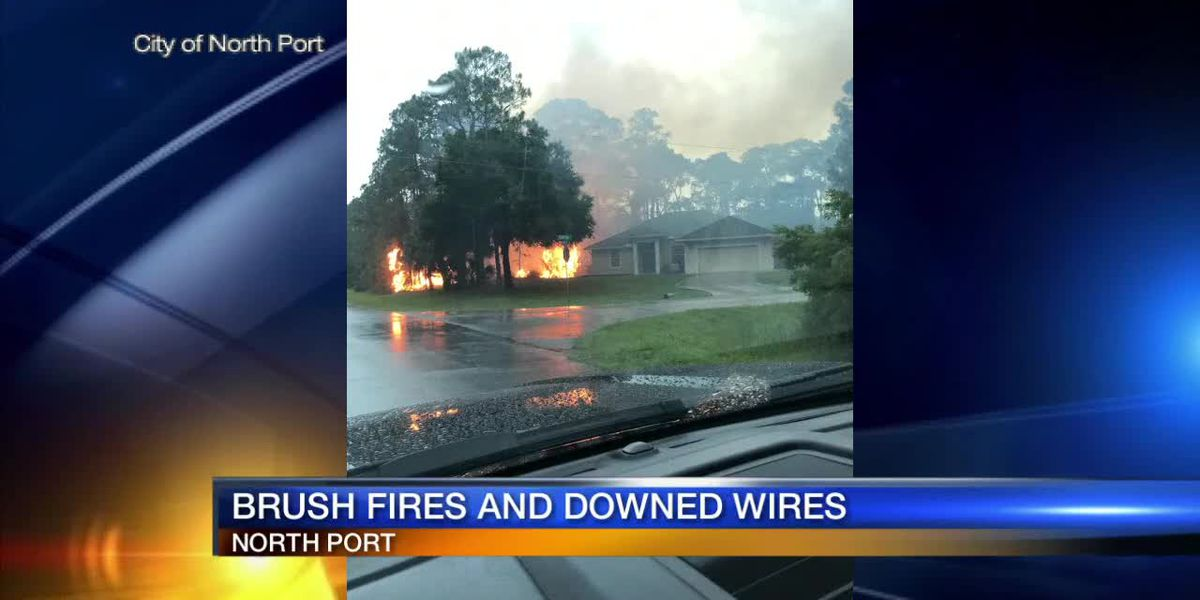 Brush fires and downed wires