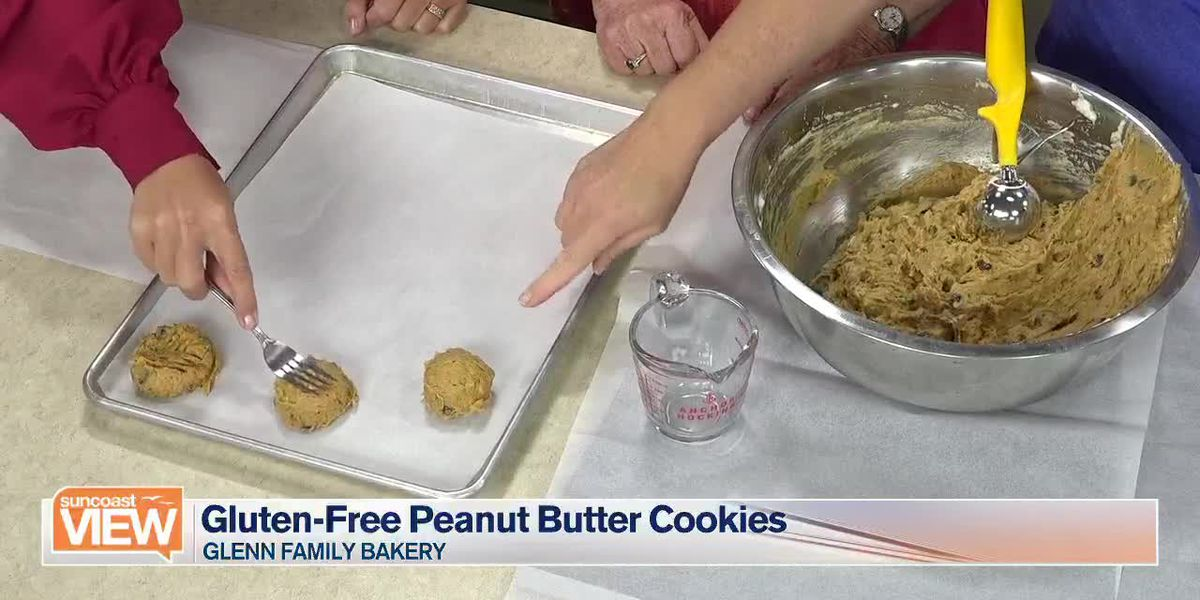 Recipe for Gluten-Free Peanut Butter Cookies by Glenn Family Bakery | Suncoast View