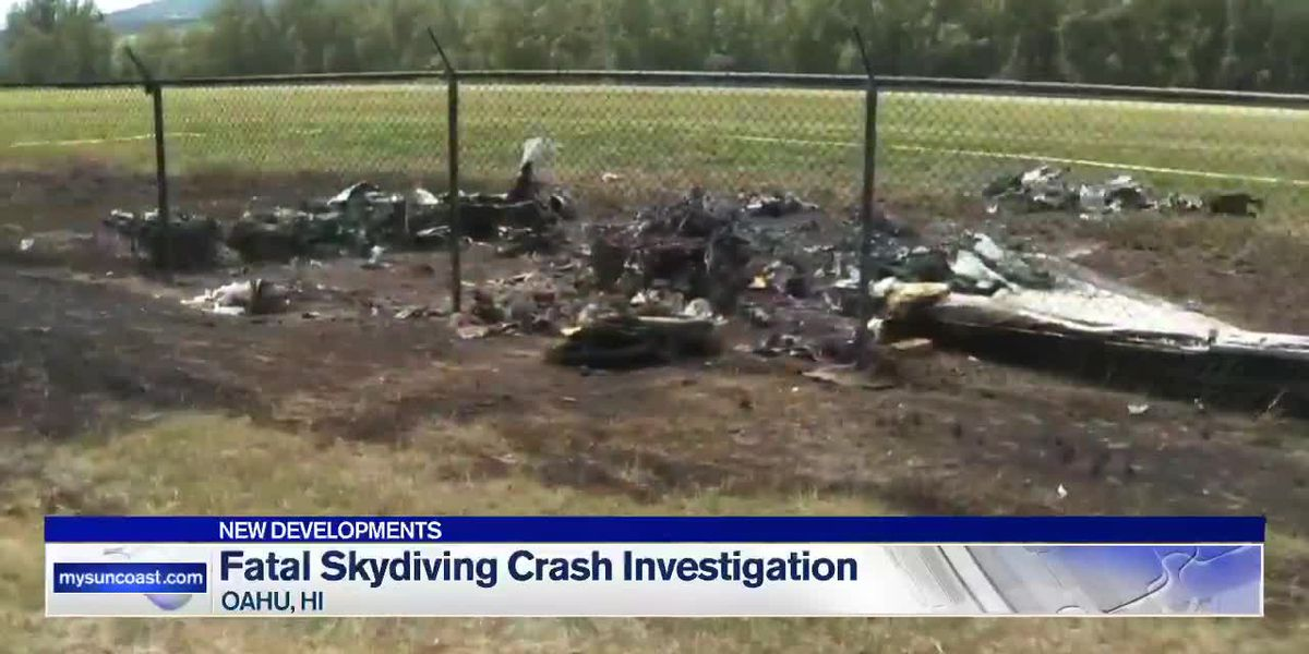 Fatal skydiving plane crash investigation
