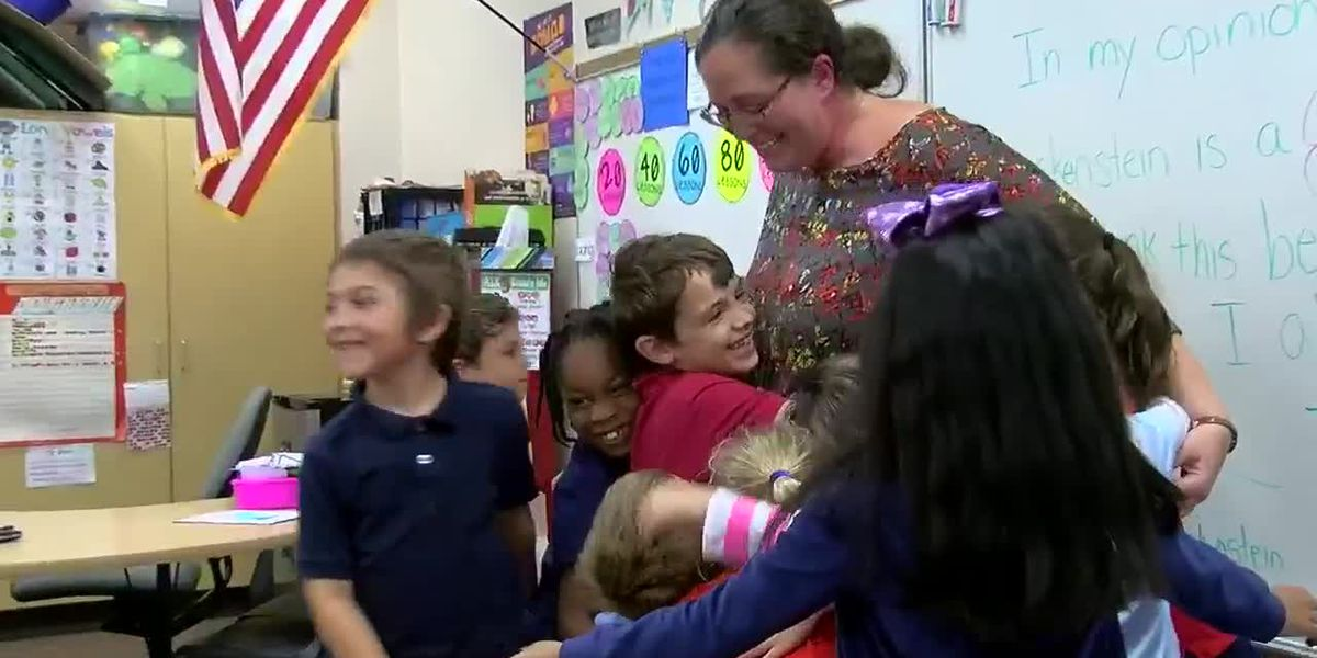 November Chalkboard Champion for Sarasota County: Mrs. Conley from Atwater Elementary