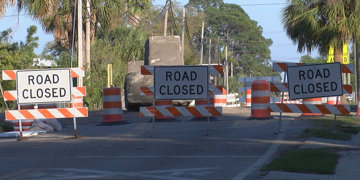 Parts of Myrtle Street in Sarasota closed for major improvement project