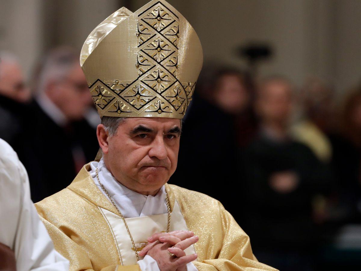 Powerful Vatican Cardinal Becciu resigns amid scandal