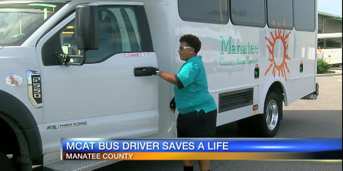 Video: MCAT Bus Driver Saves A Life