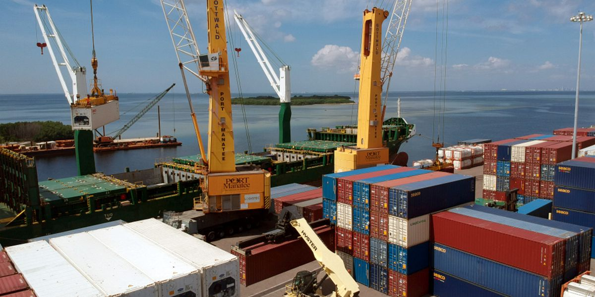 Port Manatee container trade surges 54.6 percent in fiscal 2020