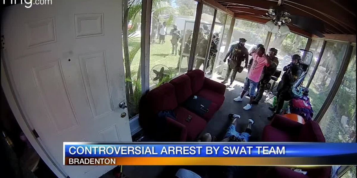 Controversial Arrest By Swat Team