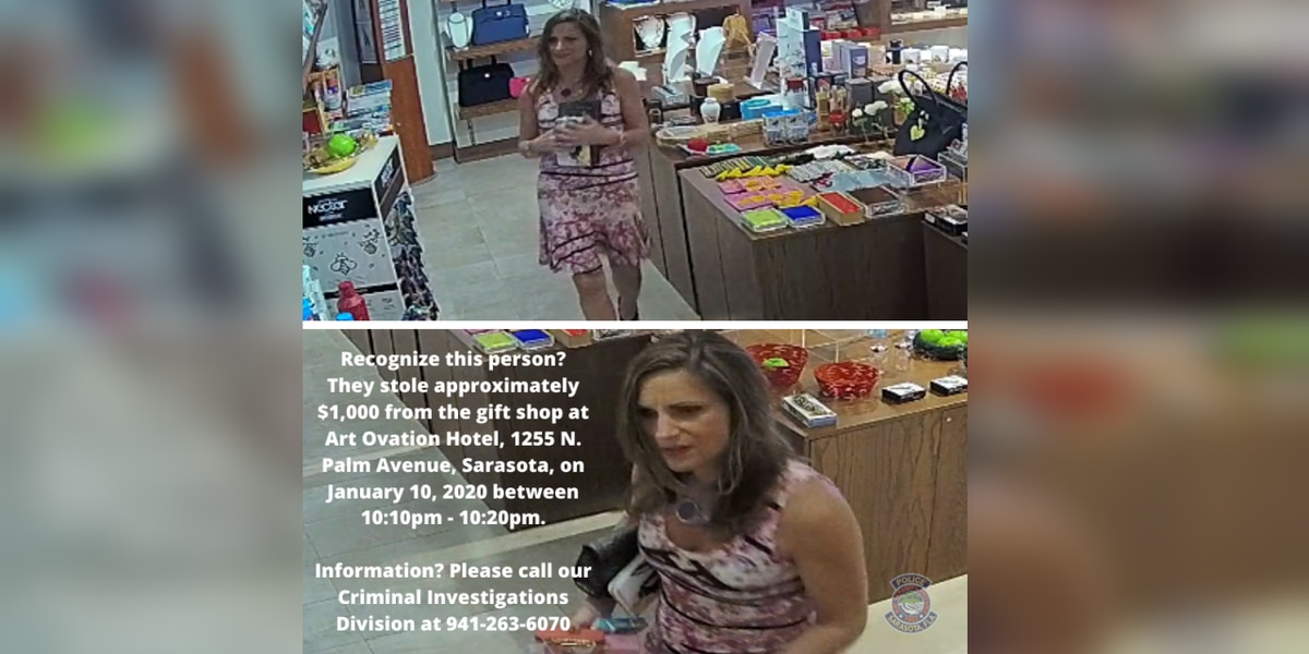 Social media sleuths help police identify, locate woman who stole from downtown Sarasota hotel