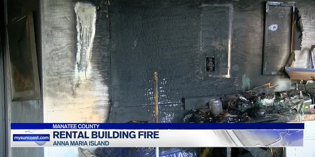 Fire causes major damage to rental unit on Anna Maria Island