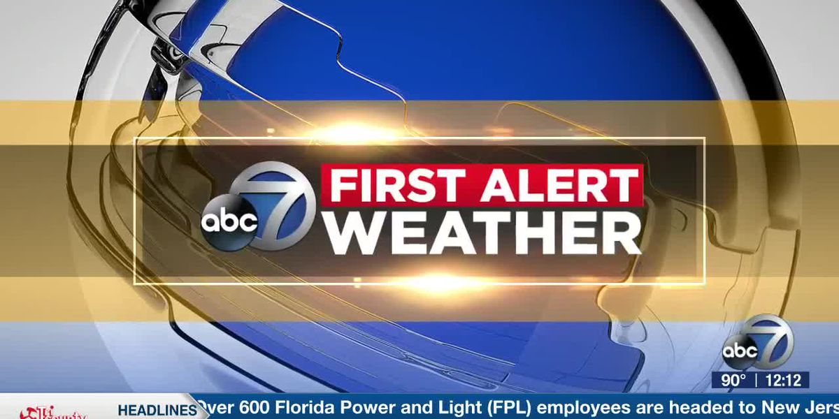 First Alert Weather - 12:00pm August 6, 2020