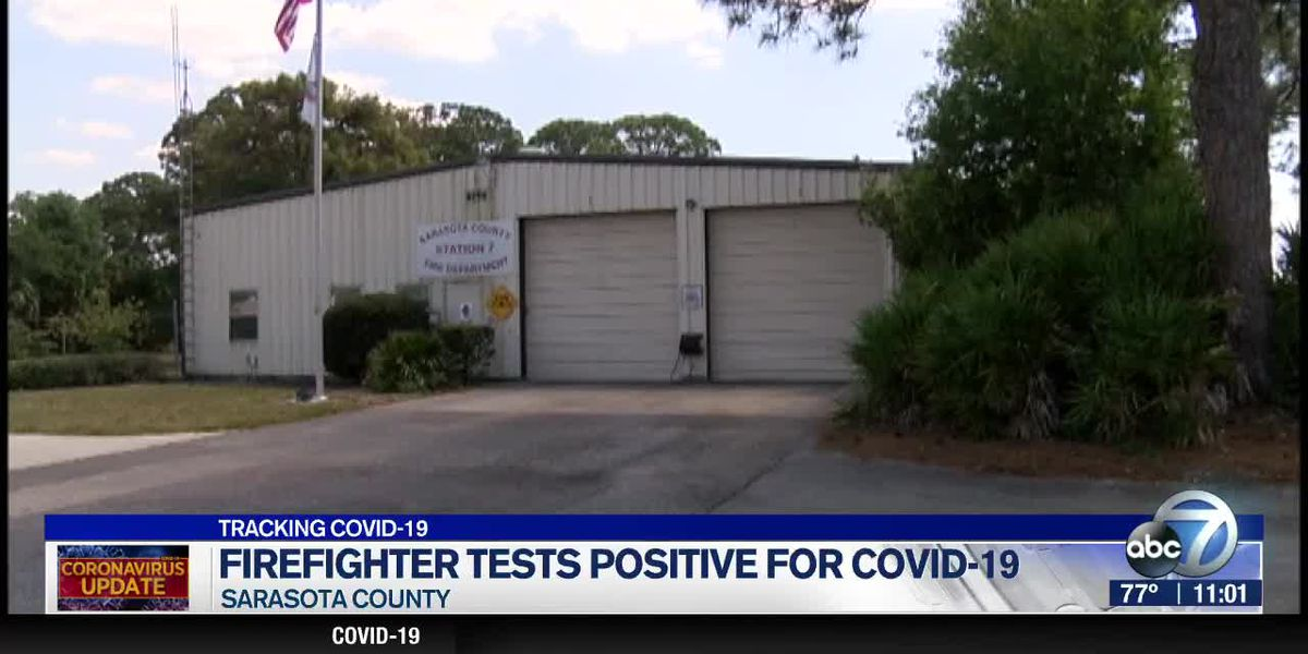 Sarasota Firefighter Tests Positive