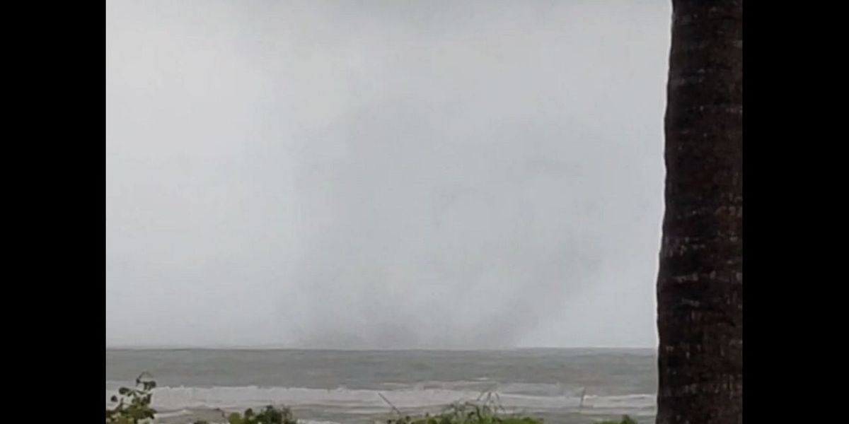 VIDEO: Waterspout spotted off Lido Key